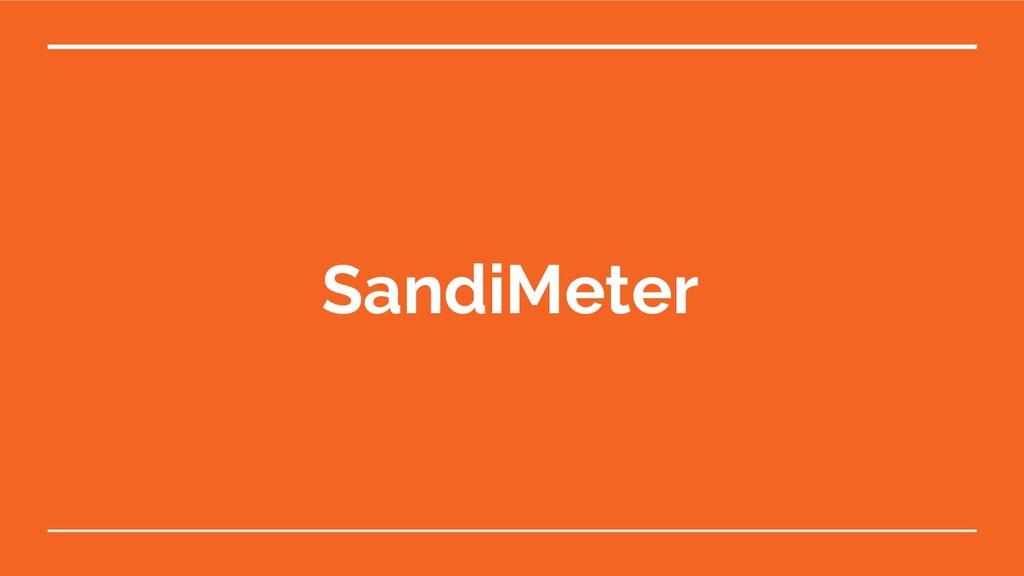 SandiMeter