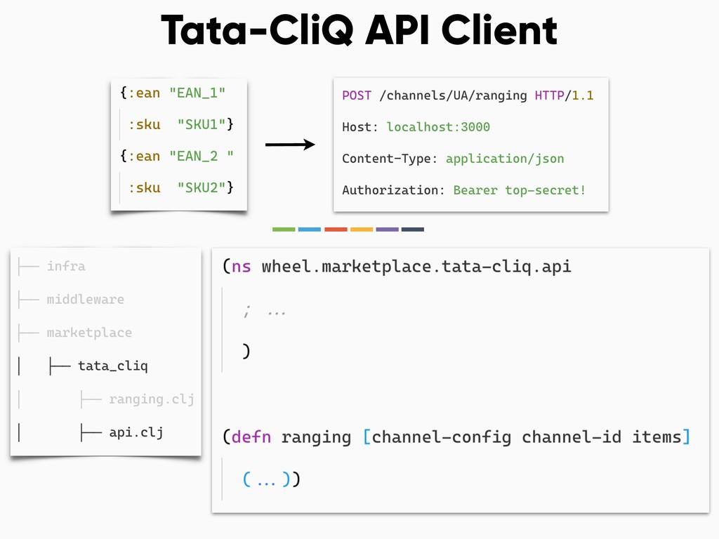 Tata-CliQ API Client