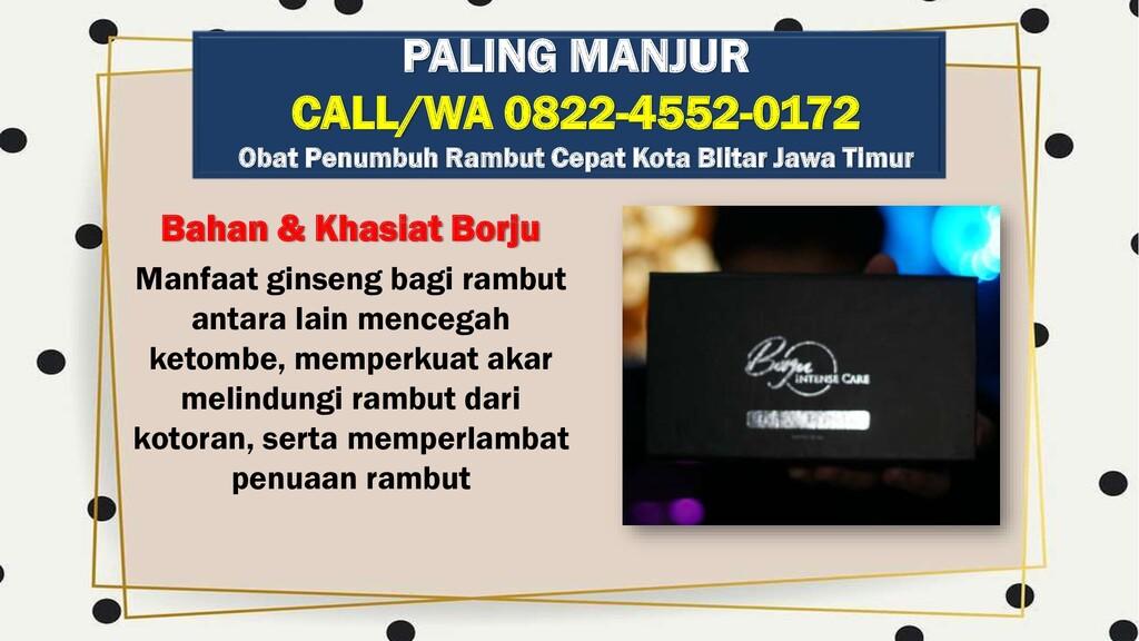 Bahan & Khasiat Borju Manfaat ginseng bagi ramb...