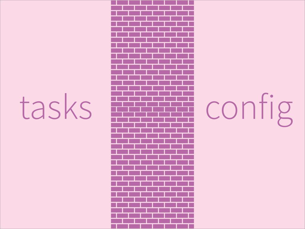 config tasks