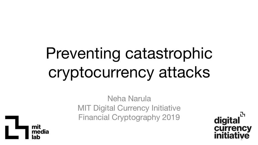 Neha Narula MIT Digital Currency Initiative F...