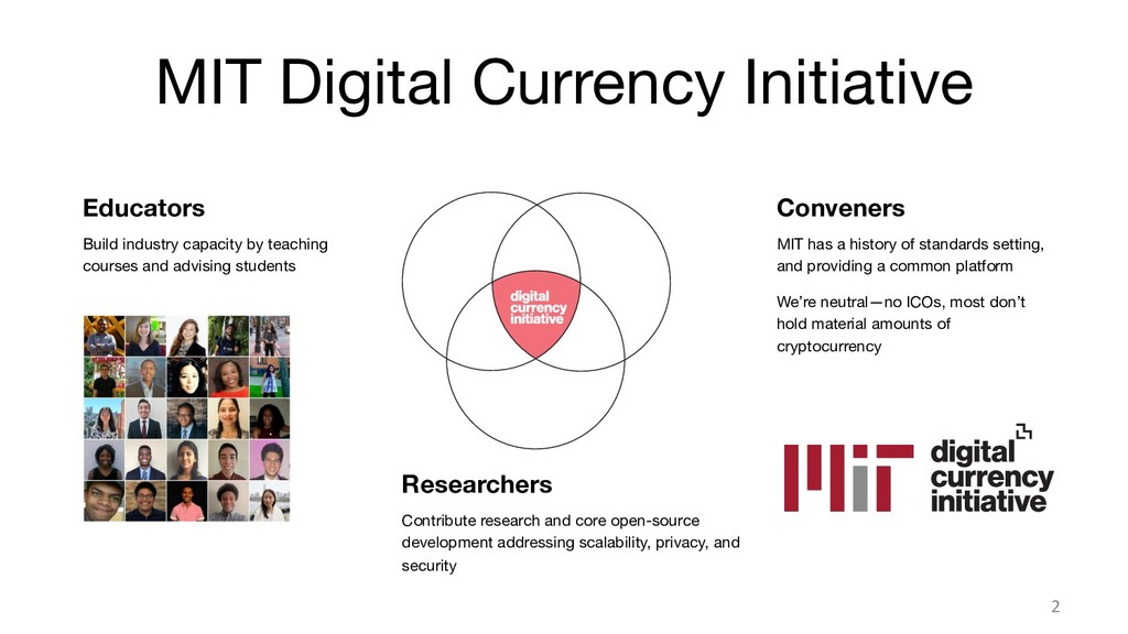 MIT Digital Currency Initiative 2 Educators B...