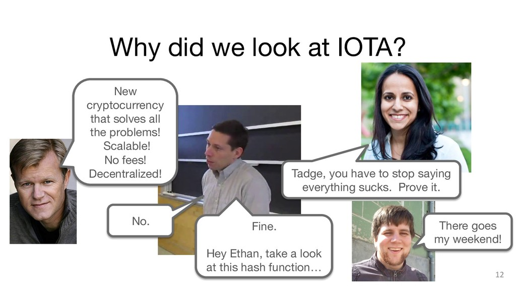 Why did we look at IOTA? 12 New cryptocurrency...