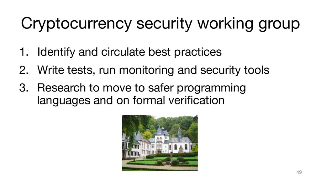 Cryptocurrency security working group 1. Iden...