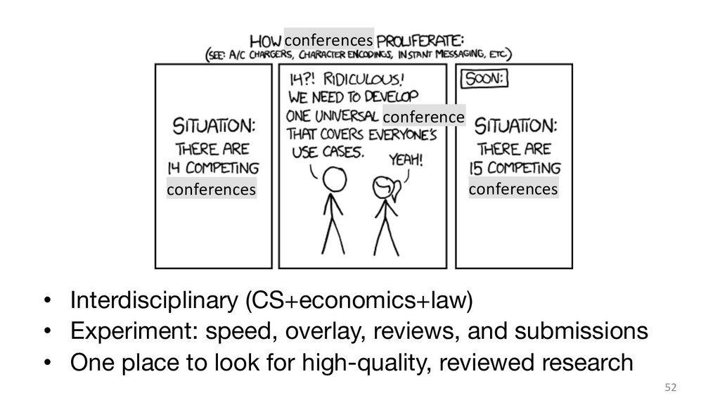 • Interdisciplinary (CS+economics+law) • Exp...