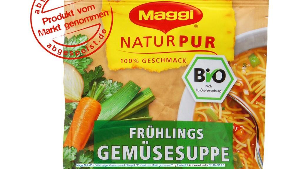 """Maggi NaturPur Frühlingsgemüsesuppe mit Stempe..."