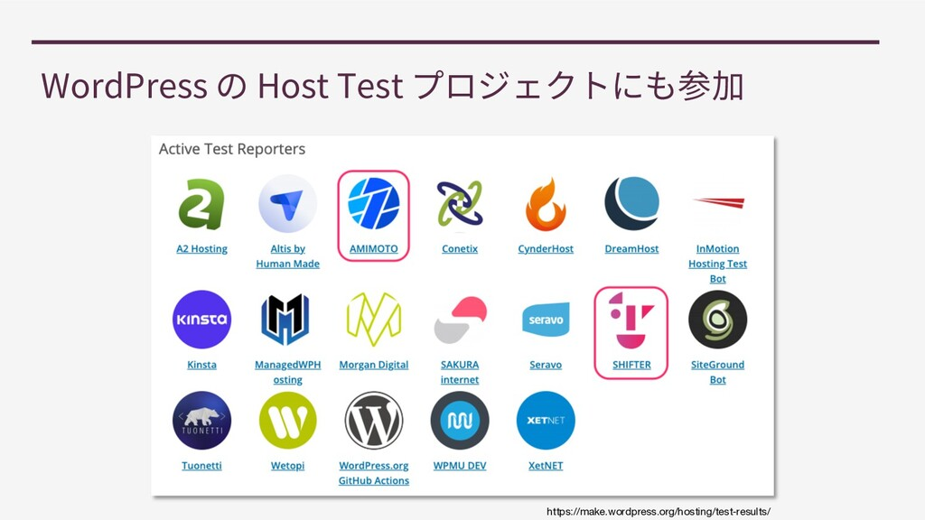 WordPress Host Test https://make.wordpress.org/...