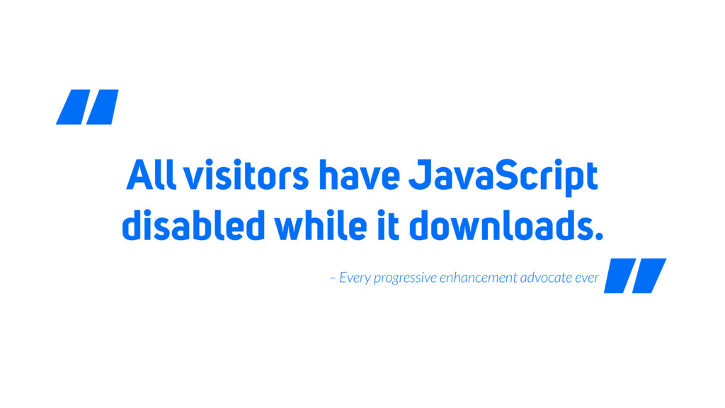All visitors have JavaScript disabled while it ...