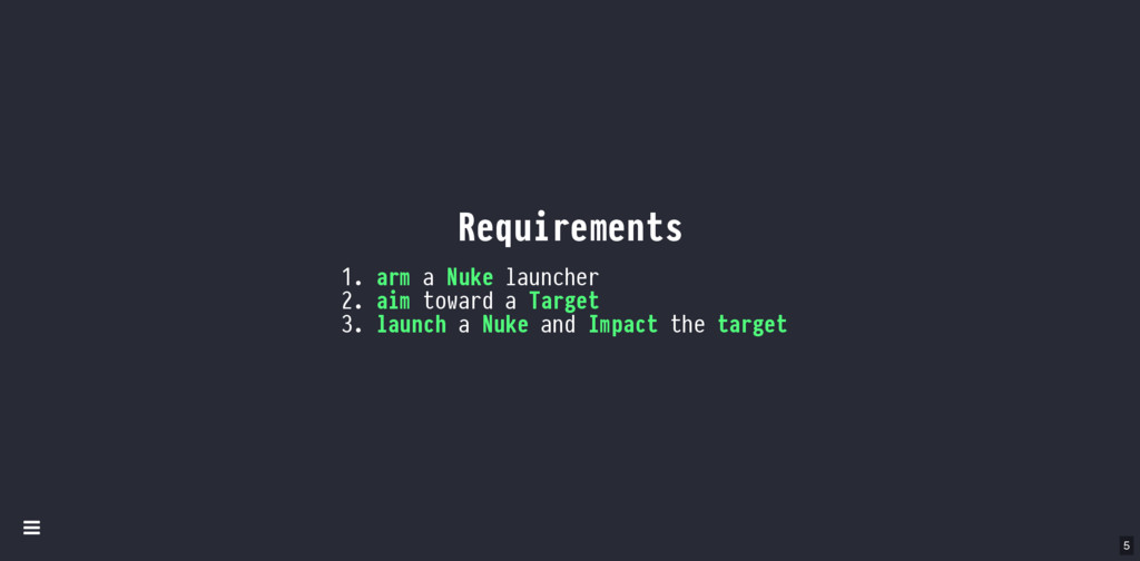 Requirements 1. arm a Nuke launcher 2. aim towa...
