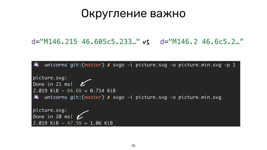 """Округление важно 36 d=""""M146.215 46.605c5.233…"""" ..."""