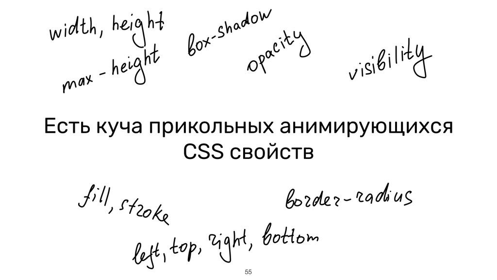Есть куча прикольных анимирующихся CSS свойств ...