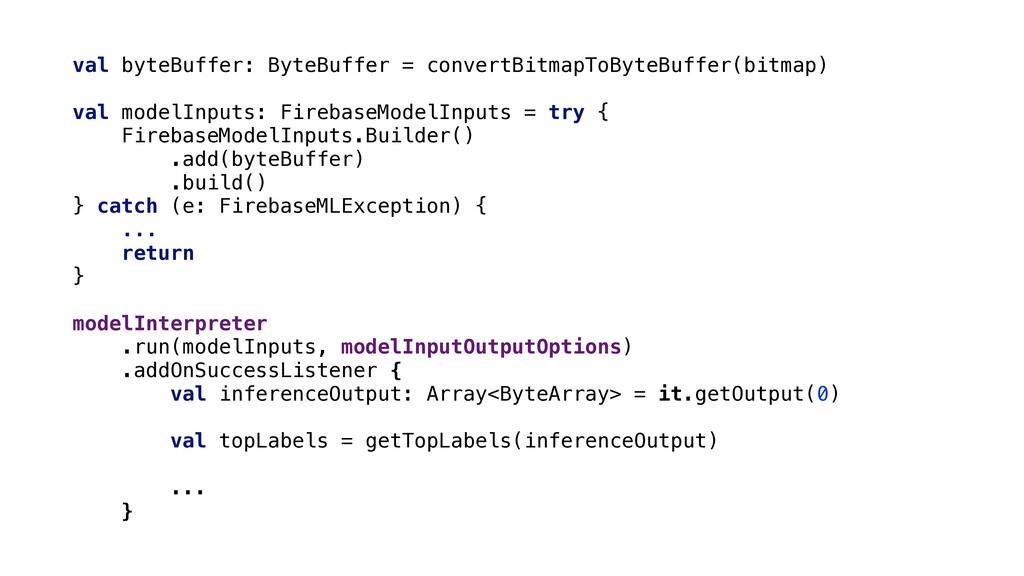 val byteBuffer: ByteBuffer = convertBitmapToByt...