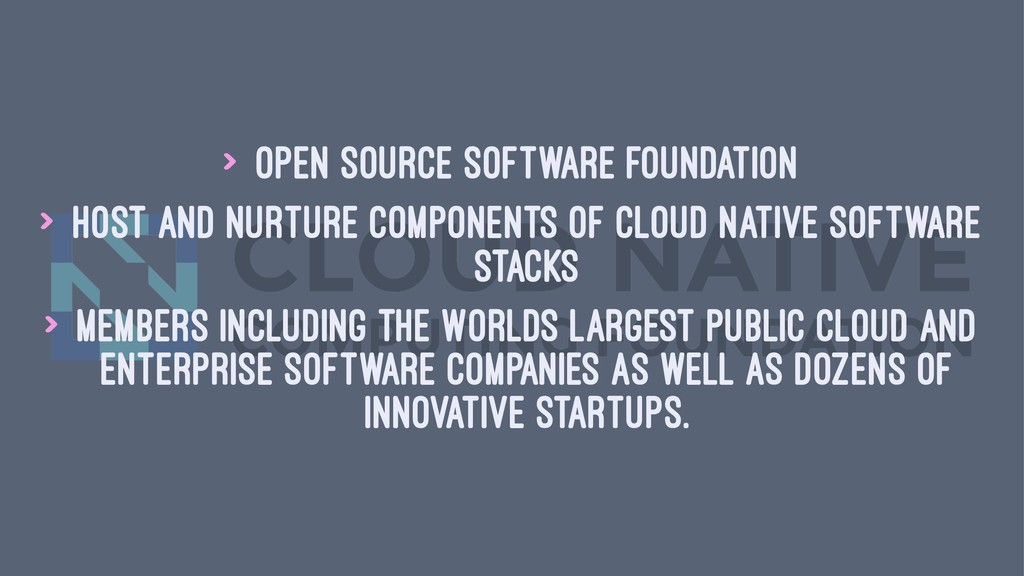 > Open source software foundation > Host and nu...