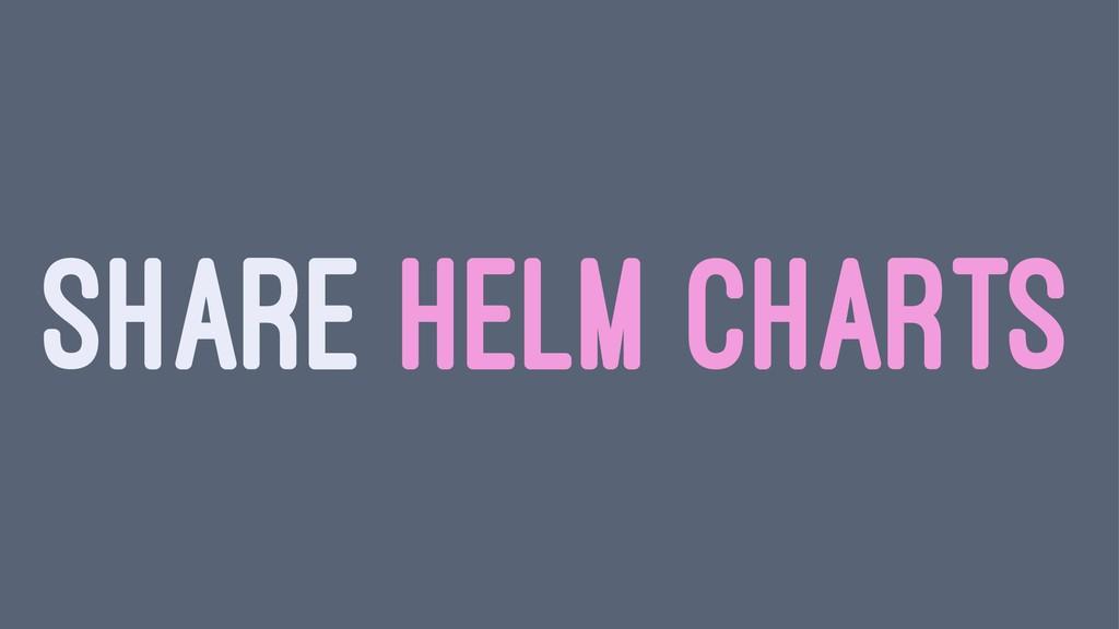 SHARE HELM CHARTS