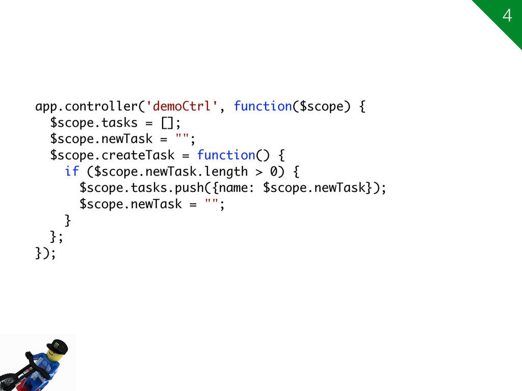 app.controller('demoCtrl', function($scope) { $...