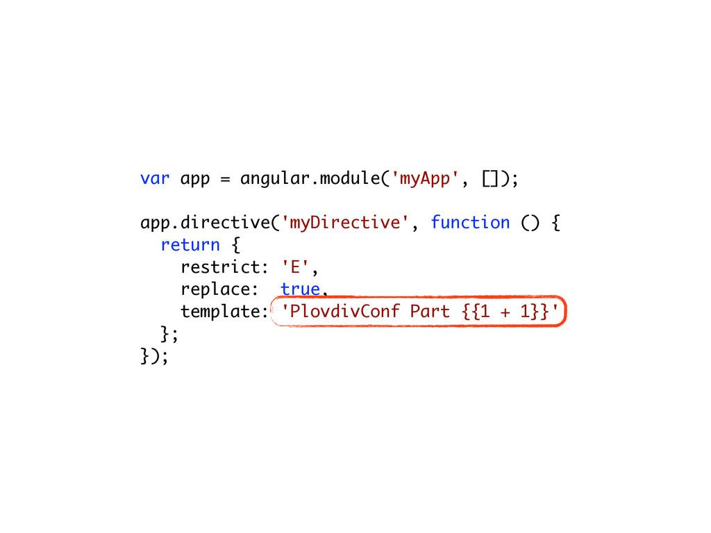var app = angular.module('myApp', []); ! app.di...