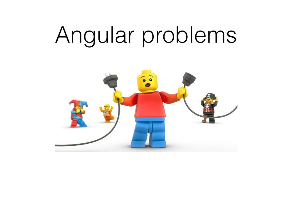 Angular problems
