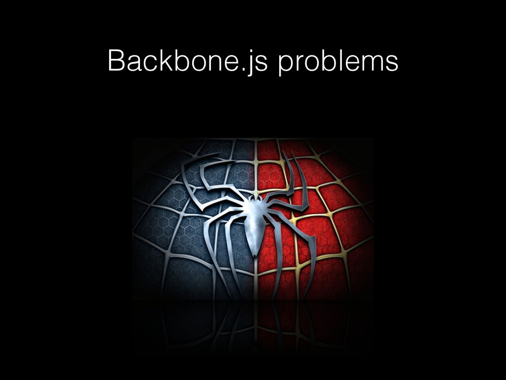 Backbone.js problems