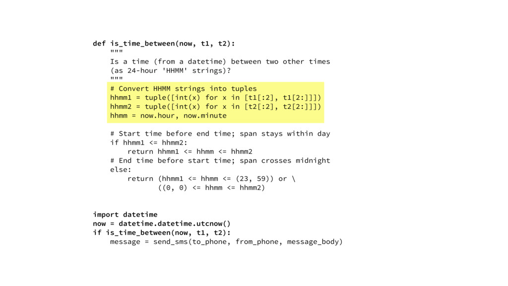 """def is_time_between(now, t1, t2): """""""""""" Is a time..."""