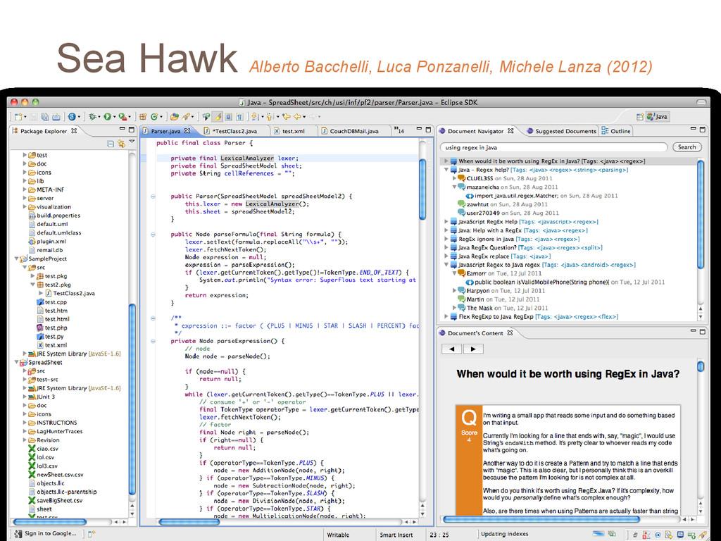 Sea Hawk Alberto Bacchelli, Luca Ponzanelli, Mi...