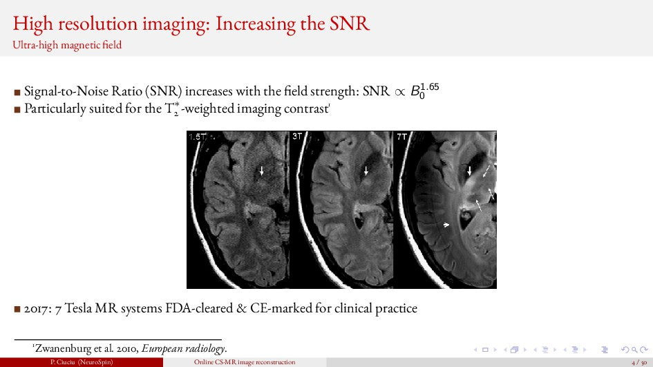 High resolution imaging: Increasing the SNR Ult...