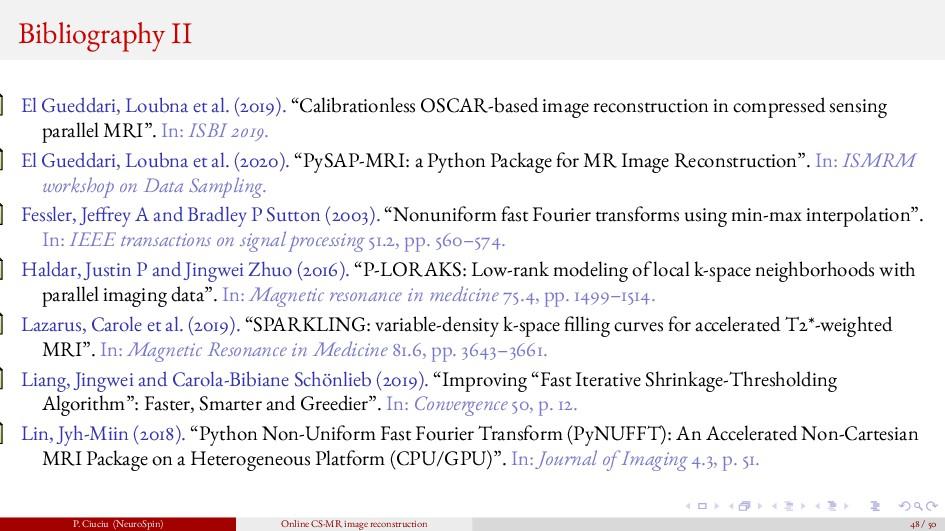 Bibliography II El Gueddari, Loubna et al. (201...