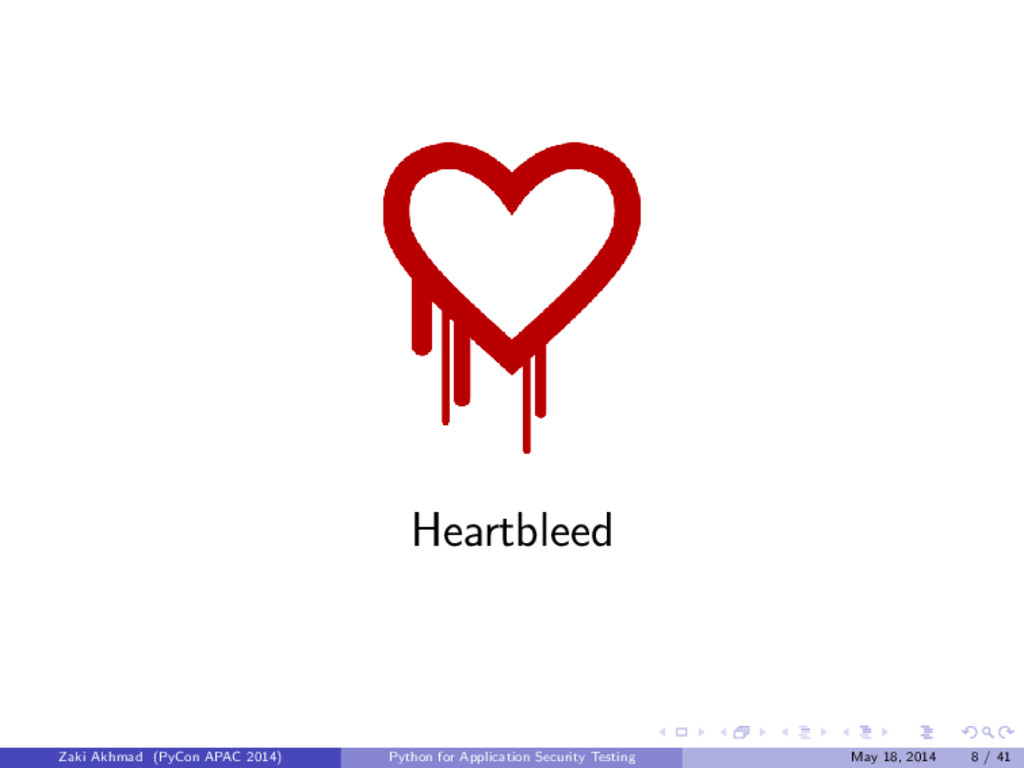 Heartbleed Zaki Akhmad (PyCon APAC 2014) Python...