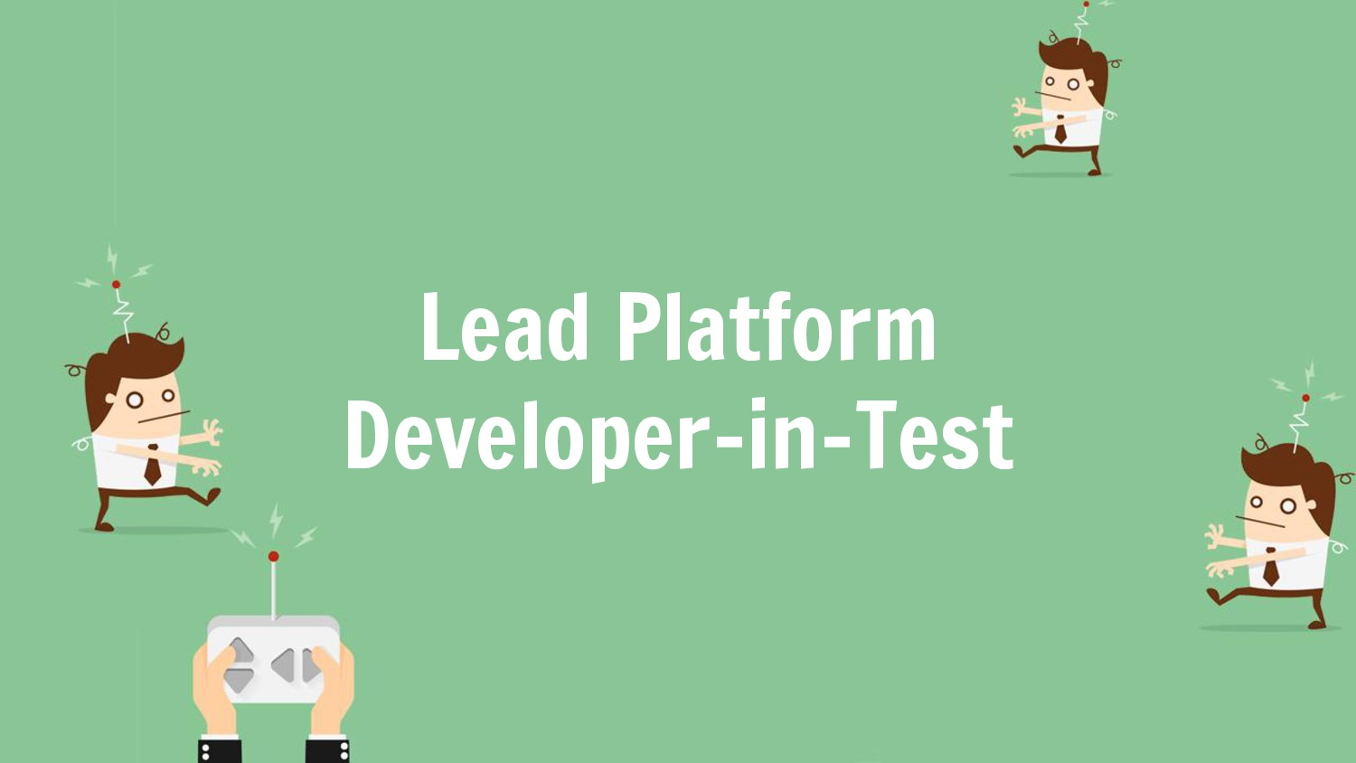 Lead Platform Developer-in-Test
