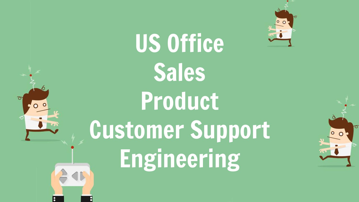 US Office Sales Product Customer Support Engine...