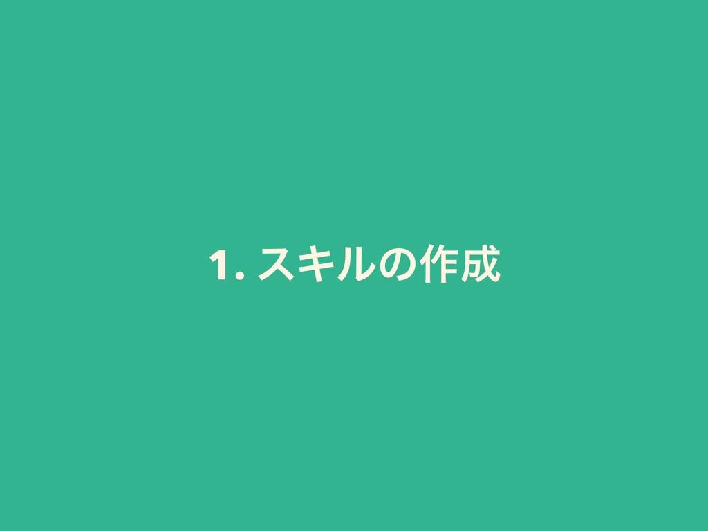 1. εΩϧͷ࡞