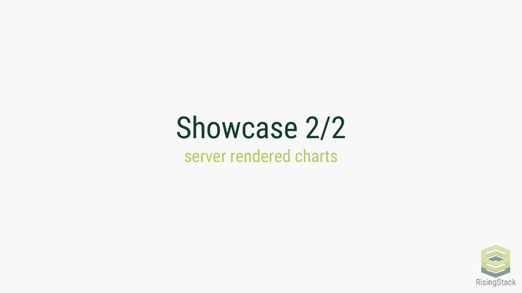 Showcase 2/2 server rendered charts
