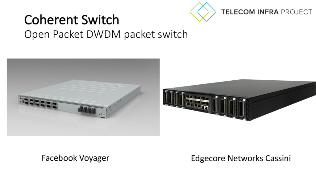 Coherent Switch Open Packet DWDM packet switch ...