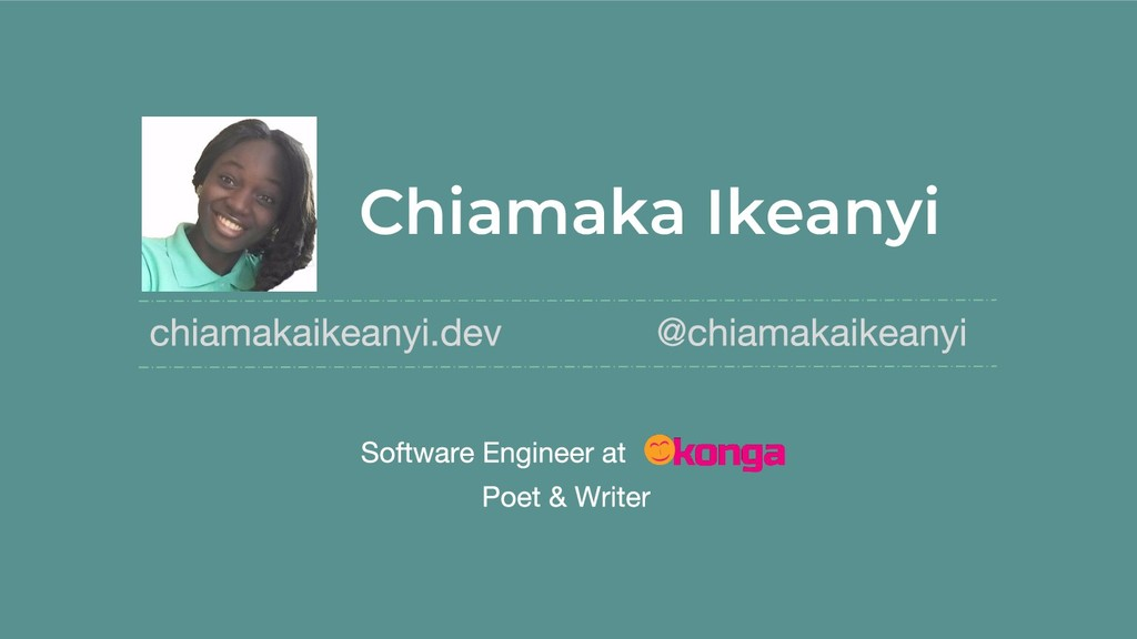 Chiamaka Ikeanyi