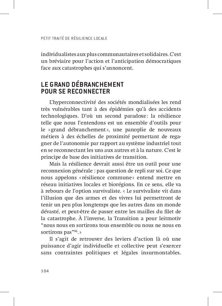 PETIT TRAITÉ DE RÉSILIENCE LOCALE 104 individua...