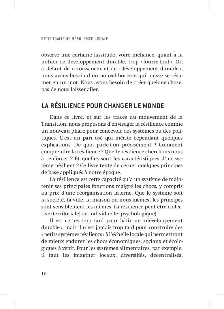 PETIT TRAITÉ DE RÉSILIENCE LOCALE 16 observe un...
