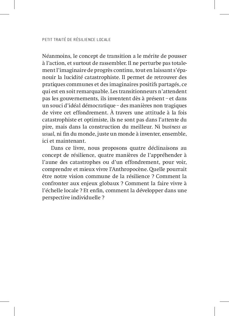 PETIT TRAITÉ DE RÉSILIENCE LOCALE Néanmoins, le...