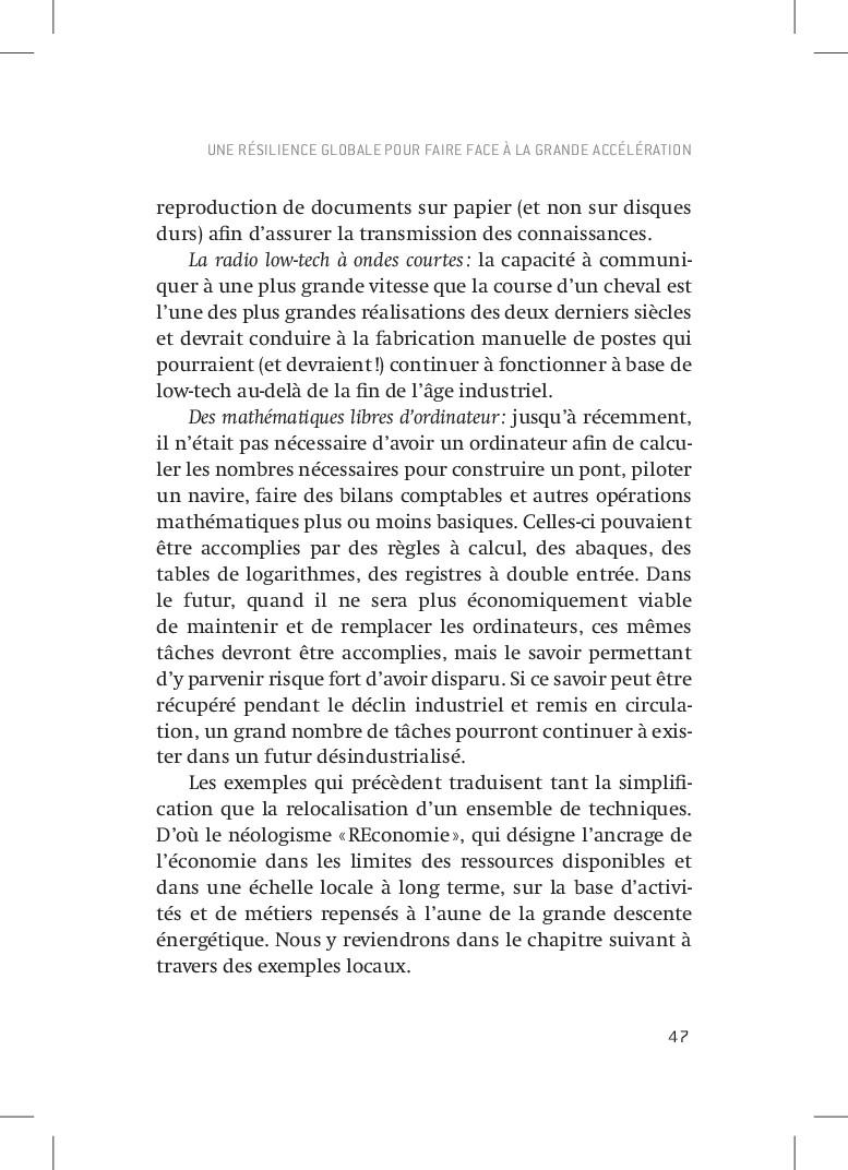 47 reproduction de documents sur papier (et non...