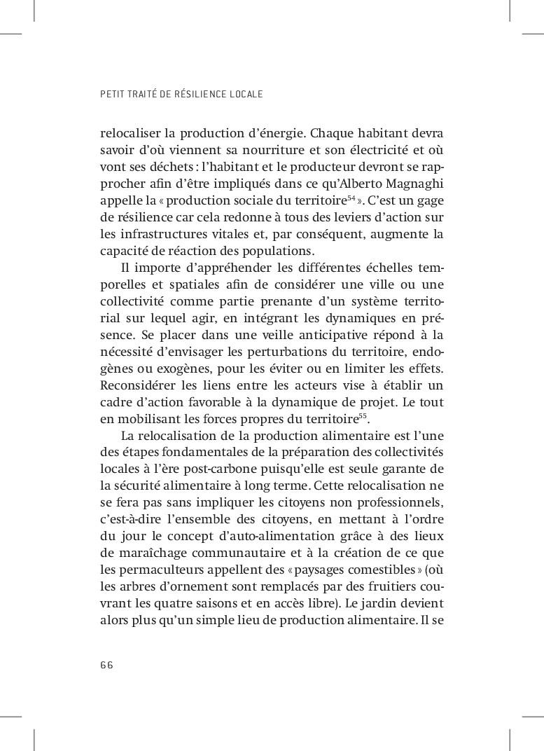 PETIT TRAITÉ DE RÉSILIENCE LOCALE 66 relocalise...