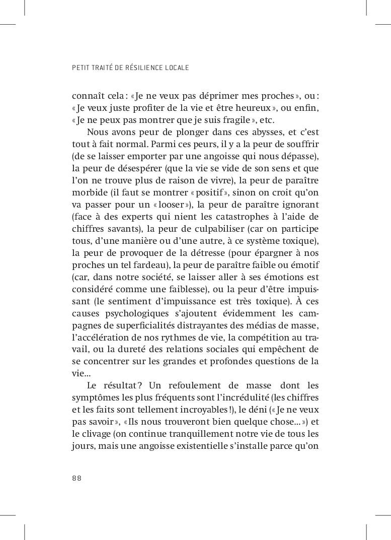 PETIT TRAITÉ DE RÉSILIENCE LOCALE 88 connaît ce...