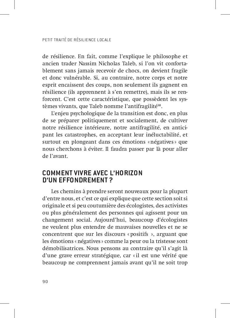 PETIT TRAITÉ DE RÉSILIENCE LOCALE 90 de résilie...