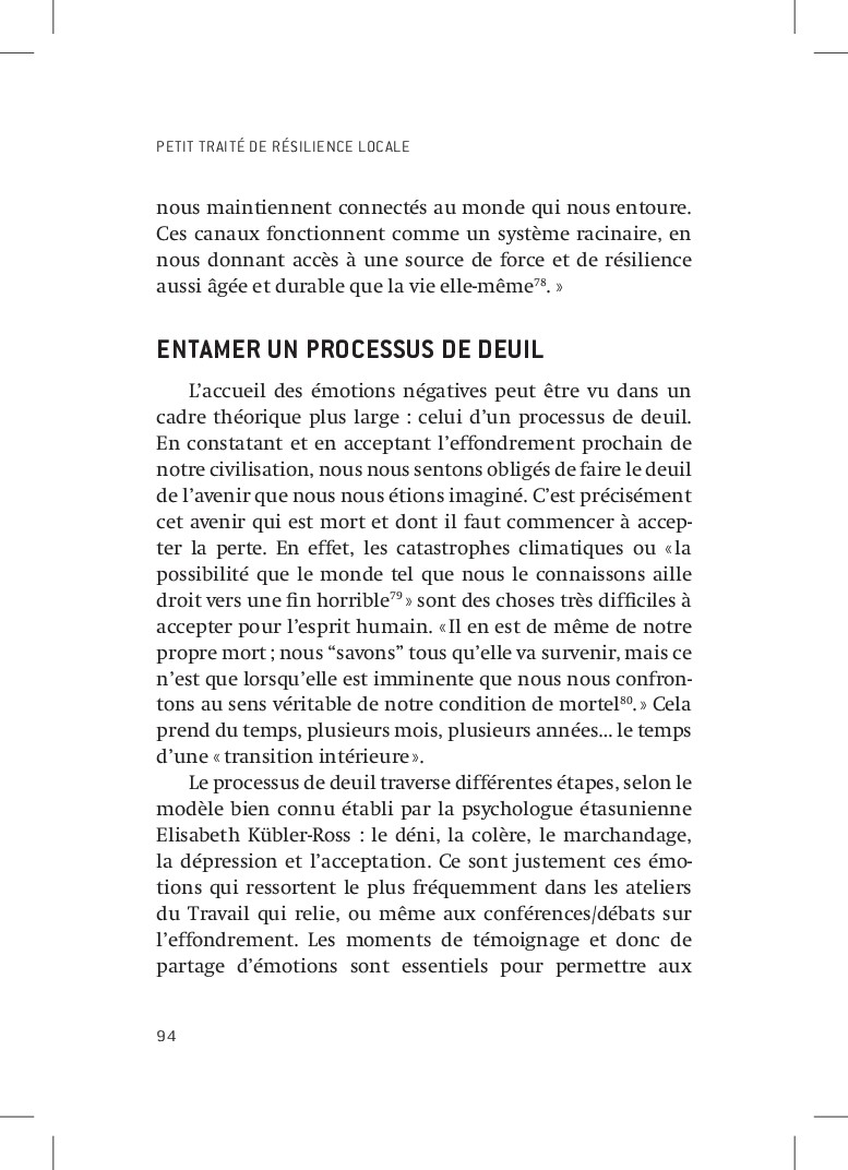 PETIT TRAITÉ DE RÉSILIENCE LOCALE 94 nous maint...