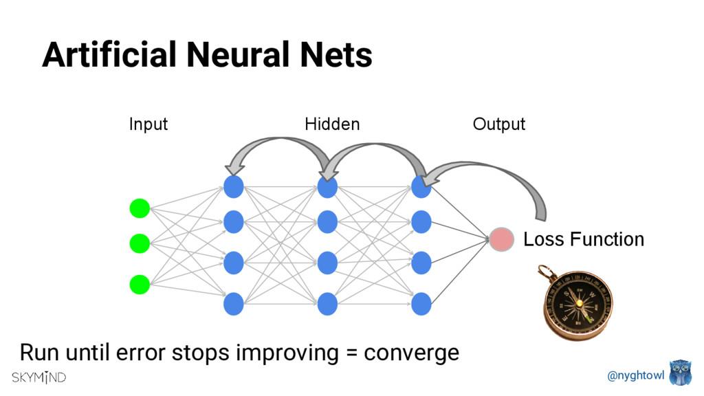 @nyghtowl Artificial Neural Nets Input Output H...