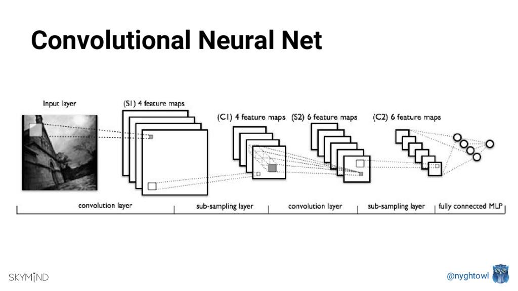 @nyghtowl Convolutional Neural Net