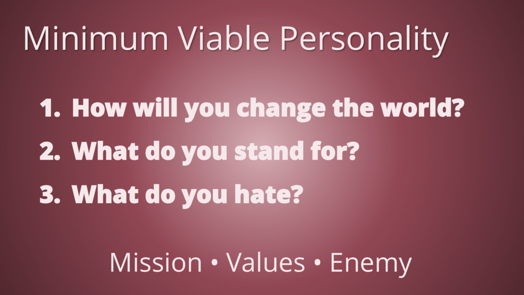 1. How will you change the world? 2. What do yo...