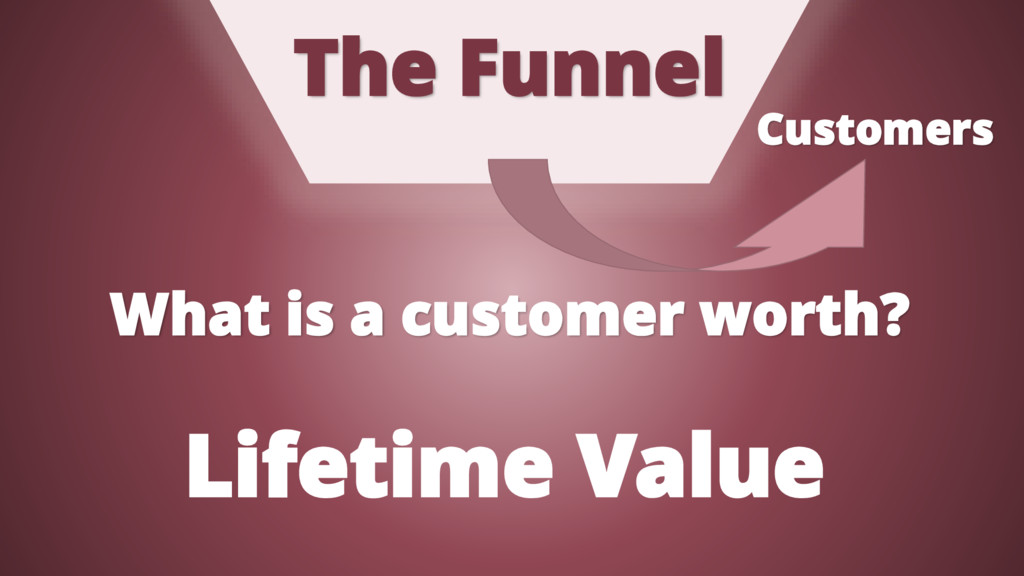 The Funnel Customers What is a customer worth? ...