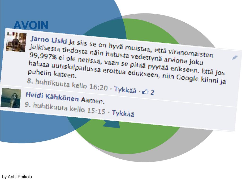 AVOIN DATA JULKINEN HALLINNON DATA HALLINNON DA...