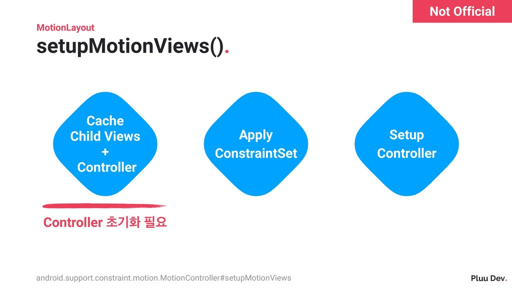 Pluu Dev. MotionLayout setupMotionViews(). Cach...