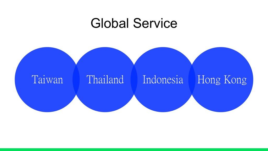Global Service Taiwan Thailand Indonesia Hong K...