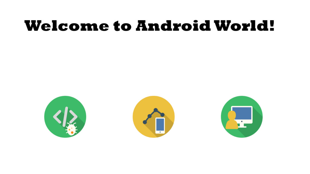 Welcome to Android World!