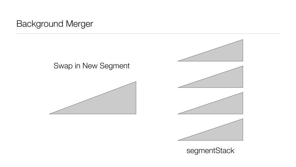 Background Merger segmentStack Swap in New Segm...